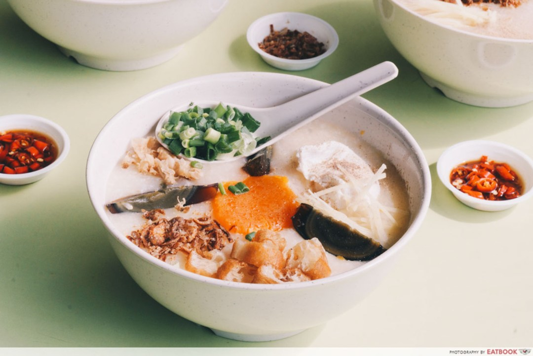 Weng Kiang Kee Porridge - Eggs