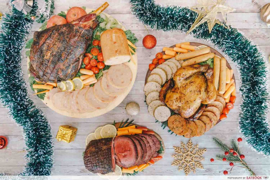 FairPrice Halal Christmas Set - Flatlay