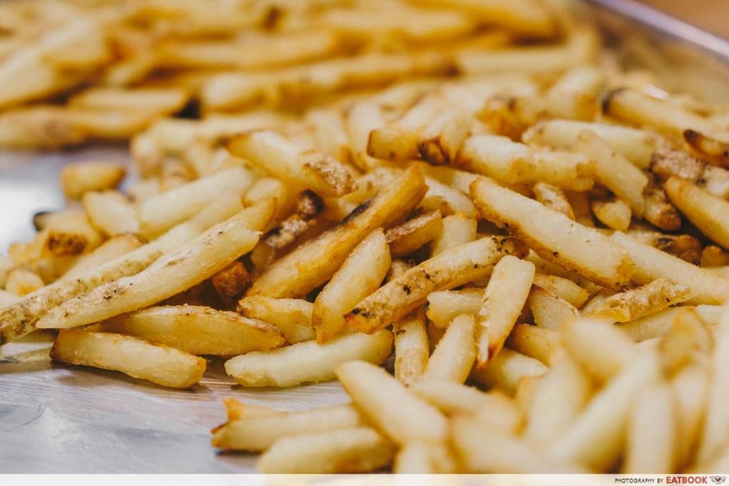 Five Guys Singapore Fries Making