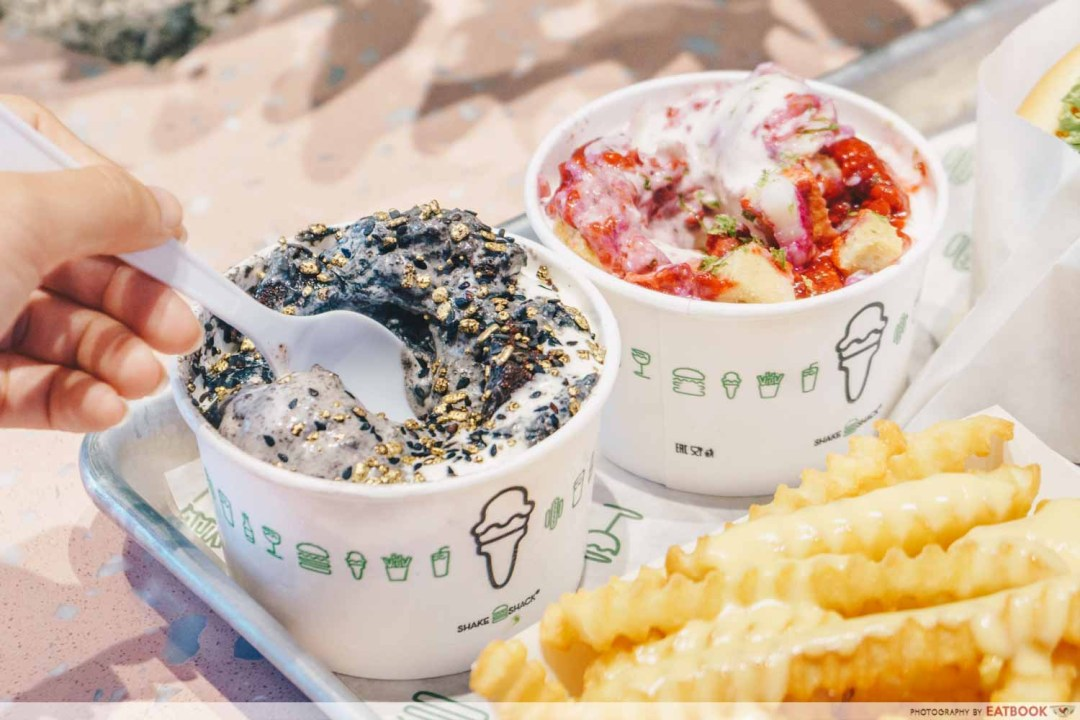Shake Shack Outram - Concrete flavours