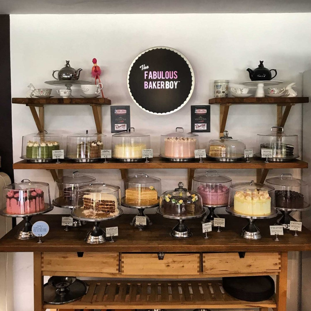 Birthday Cake Shops - The Fabulous Baker Boy