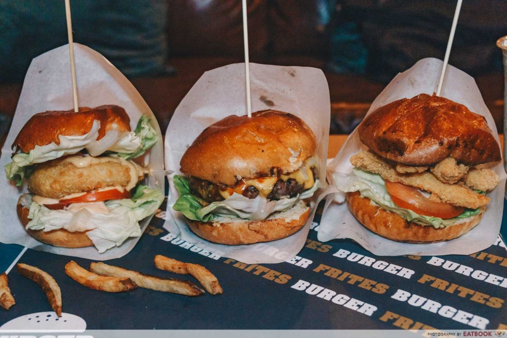 Burger Frites spread