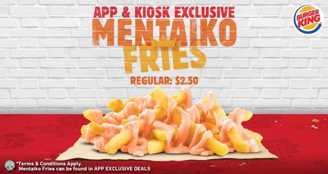 Burger King - Mentaiko Fries