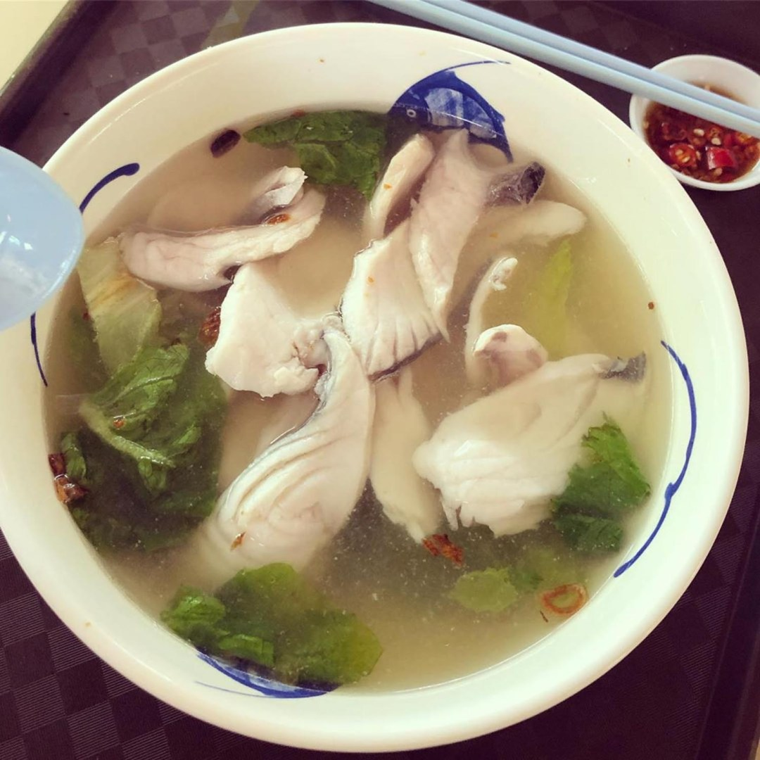 Haig Road Market - T.G Fish Porridge and Fish Soup