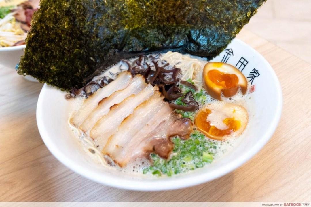 January New Restaurants - Kotteri Tonkotsu Ramen Special