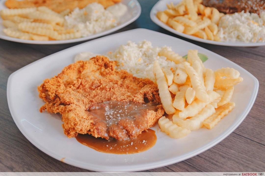 Tip Top Western Food - Cicken Cutlet
