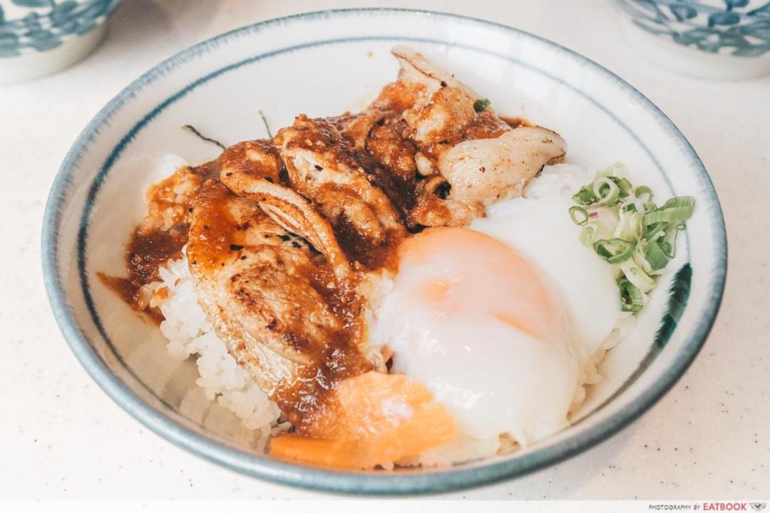 Buta Kabayaki - Garlic Pork Loin Don