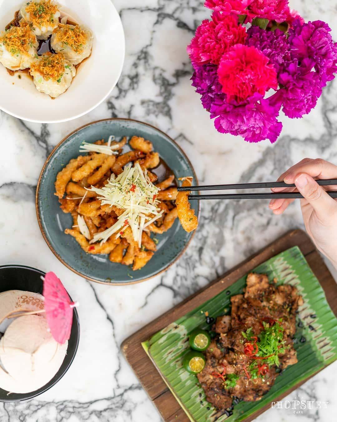 Dempsey Hil Restaurants - Chopsuey Cafe food