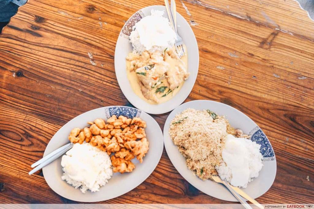 Jia Yuen Eating House flatlay