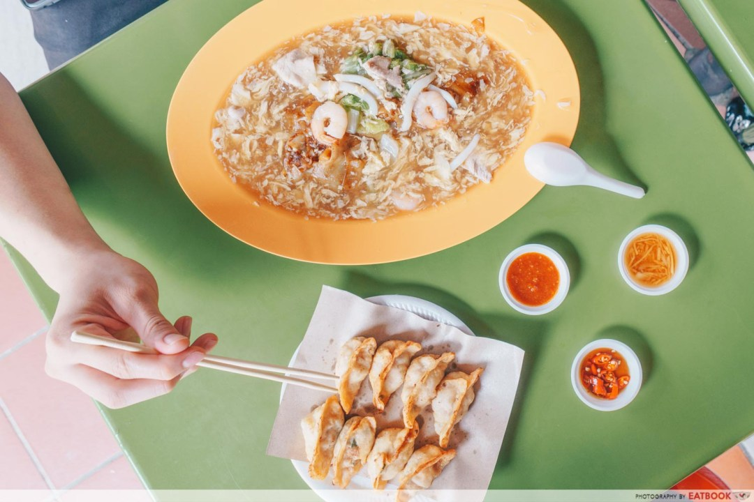 Tong Xin Ju Special Shanghai Tim Sum-Flatlay