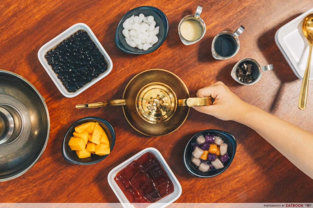 Bubble Tea Hotpot - Ingredients