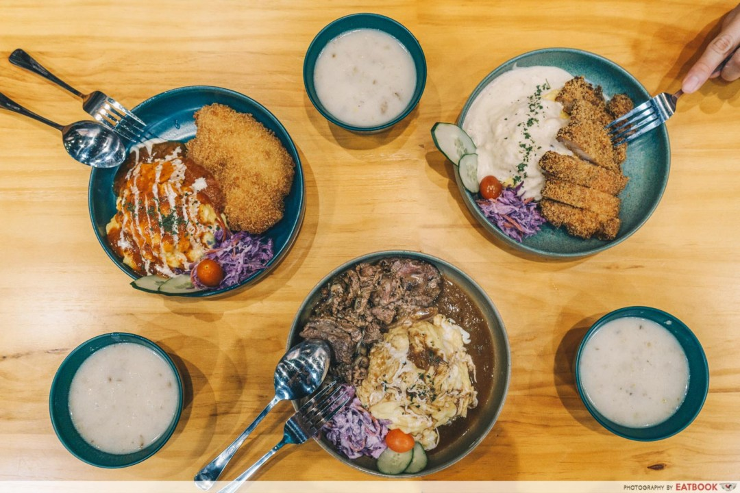 Canteen Bistro - Flatlay