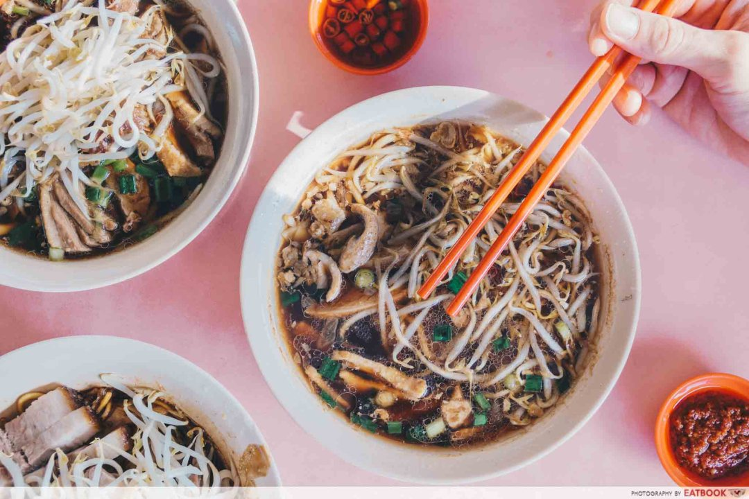 Heng Huat - Duck Noodles with soup