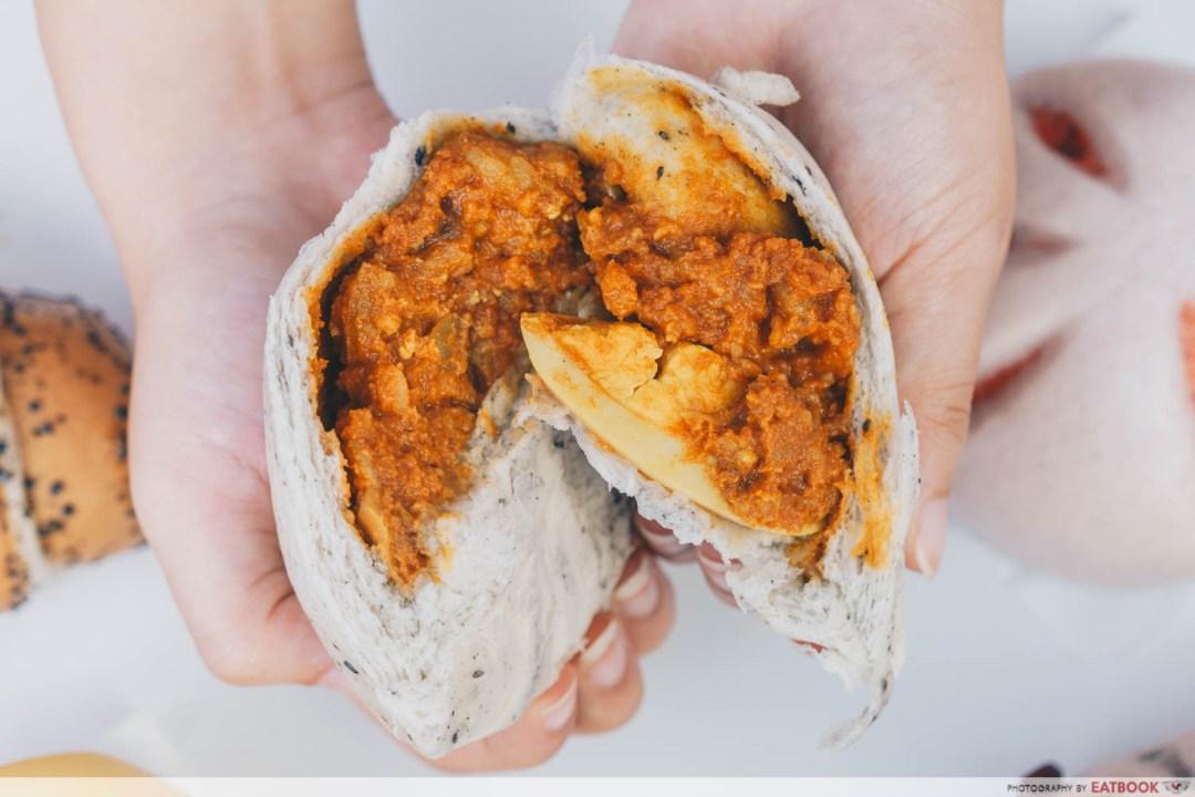 Just Dough - Curry Chicken Potato & Mushroom Filling