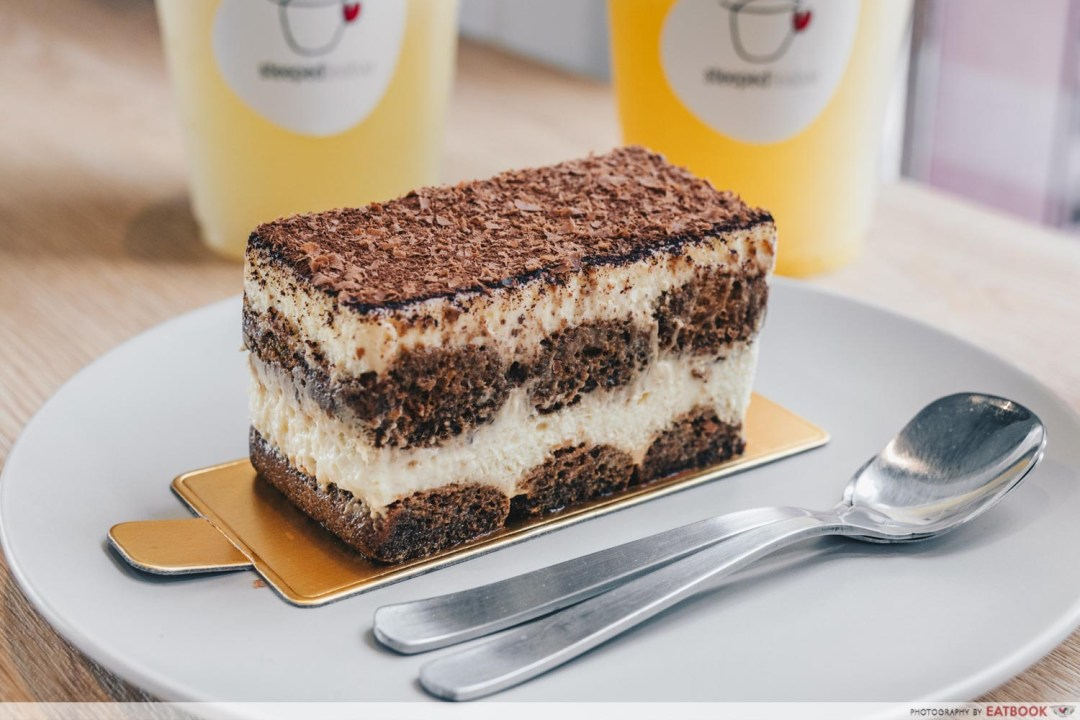 STEEPED Tea Bar - Tiramisu cake intro shot