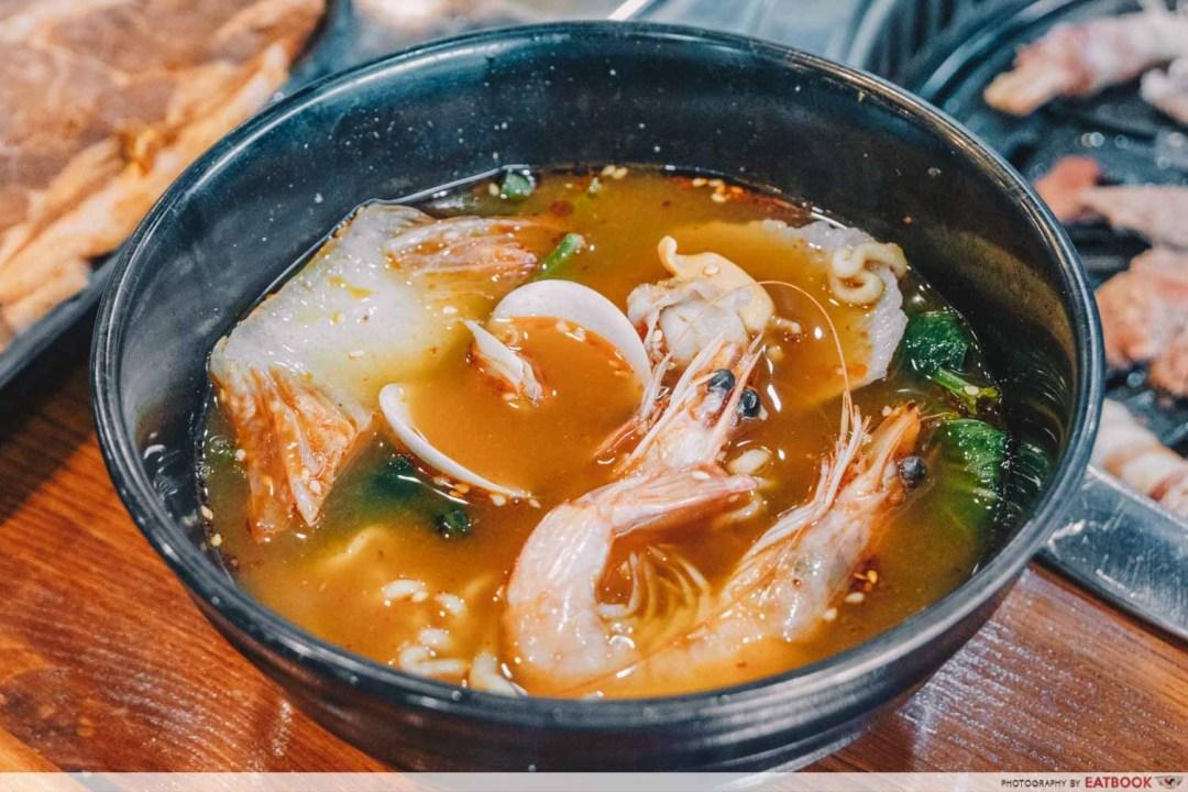 Yi Zi Wei - Mala Tang with seafood