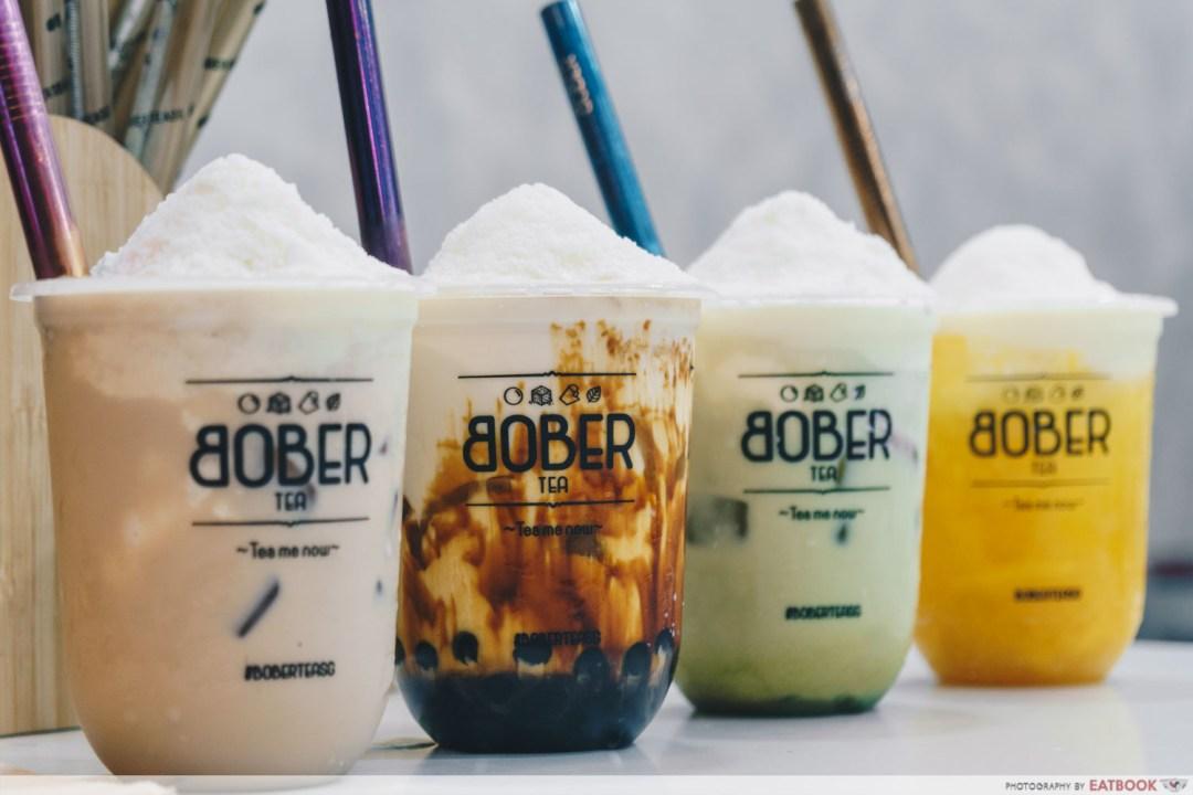 Bober Tea Delivery - Hokkaido Chizu series