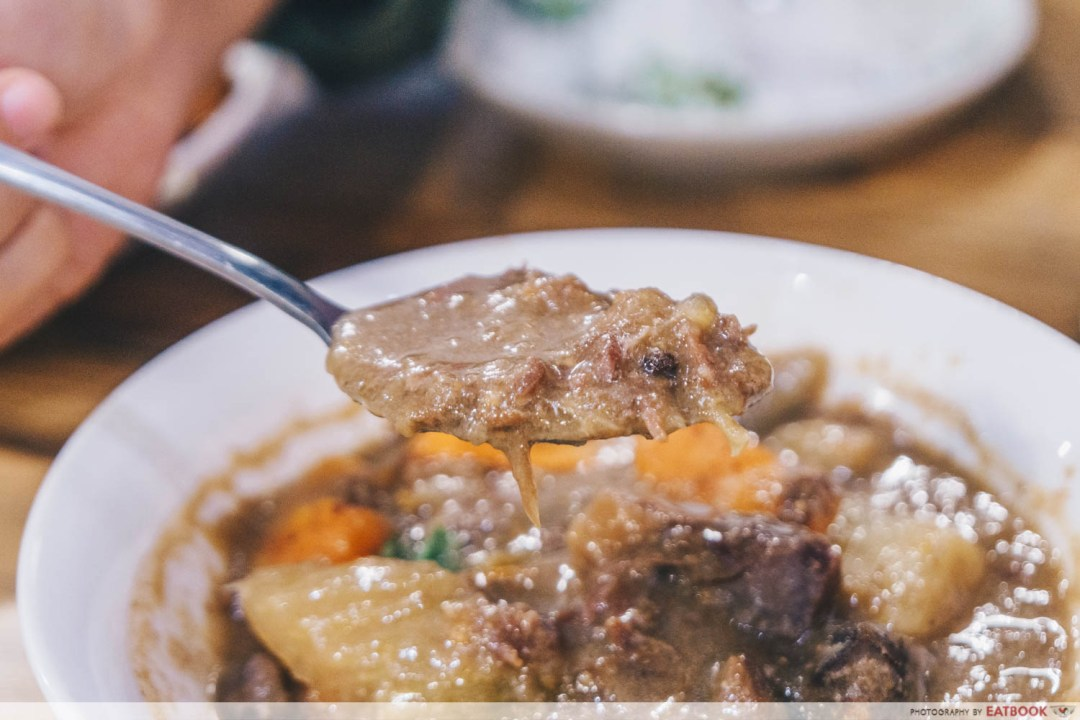Chuan Ji Bakery Hainanese Delicacies - Beef stew interaction