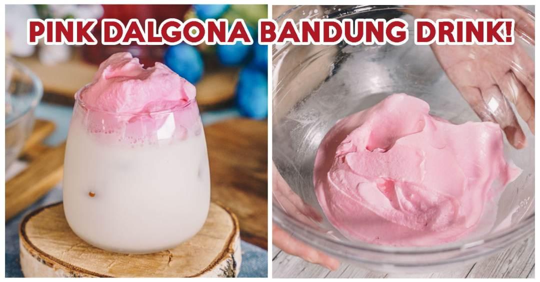 Dalgona Bandung Drink - Feature Image