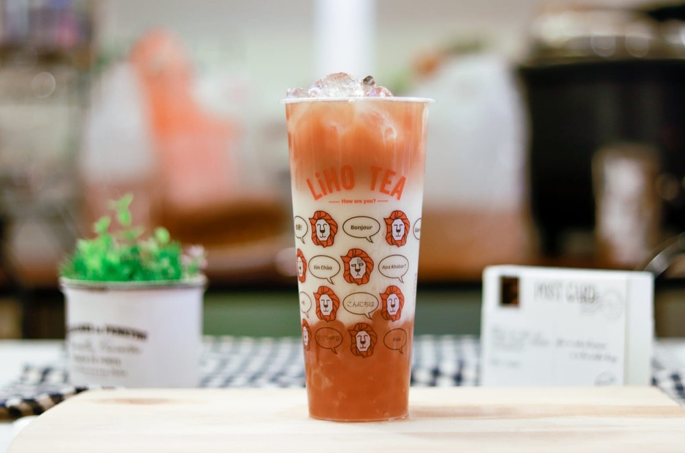 LiHO DIY Bubble Tea Kits - Black Tea Oat Latte with Golden Pearl
