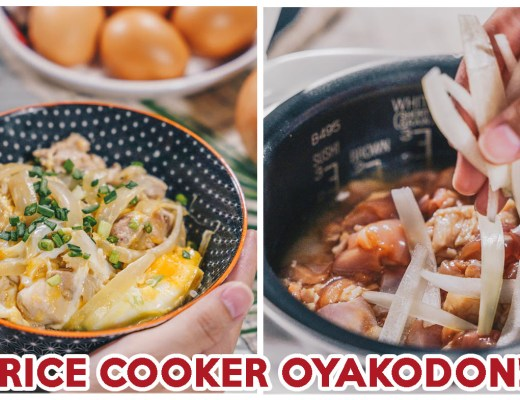 Rice Cooker Oyakodon - Feature Image
