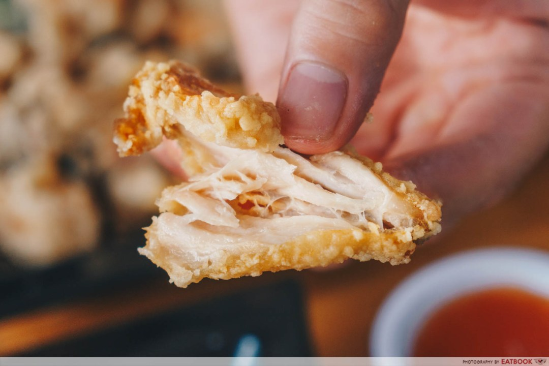 Skinny Chef - Cross-section of chicken wings