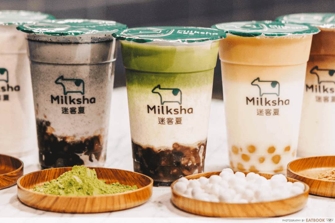 Milksha Islandwide Delivery - Drinks