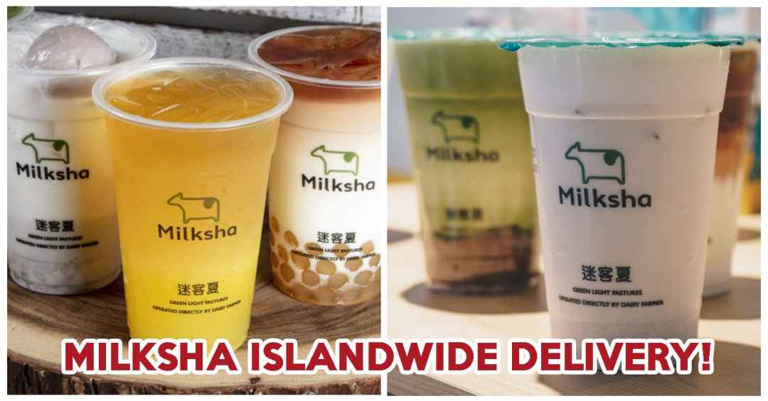 Milksha Islandwide Delivery - Feature Image