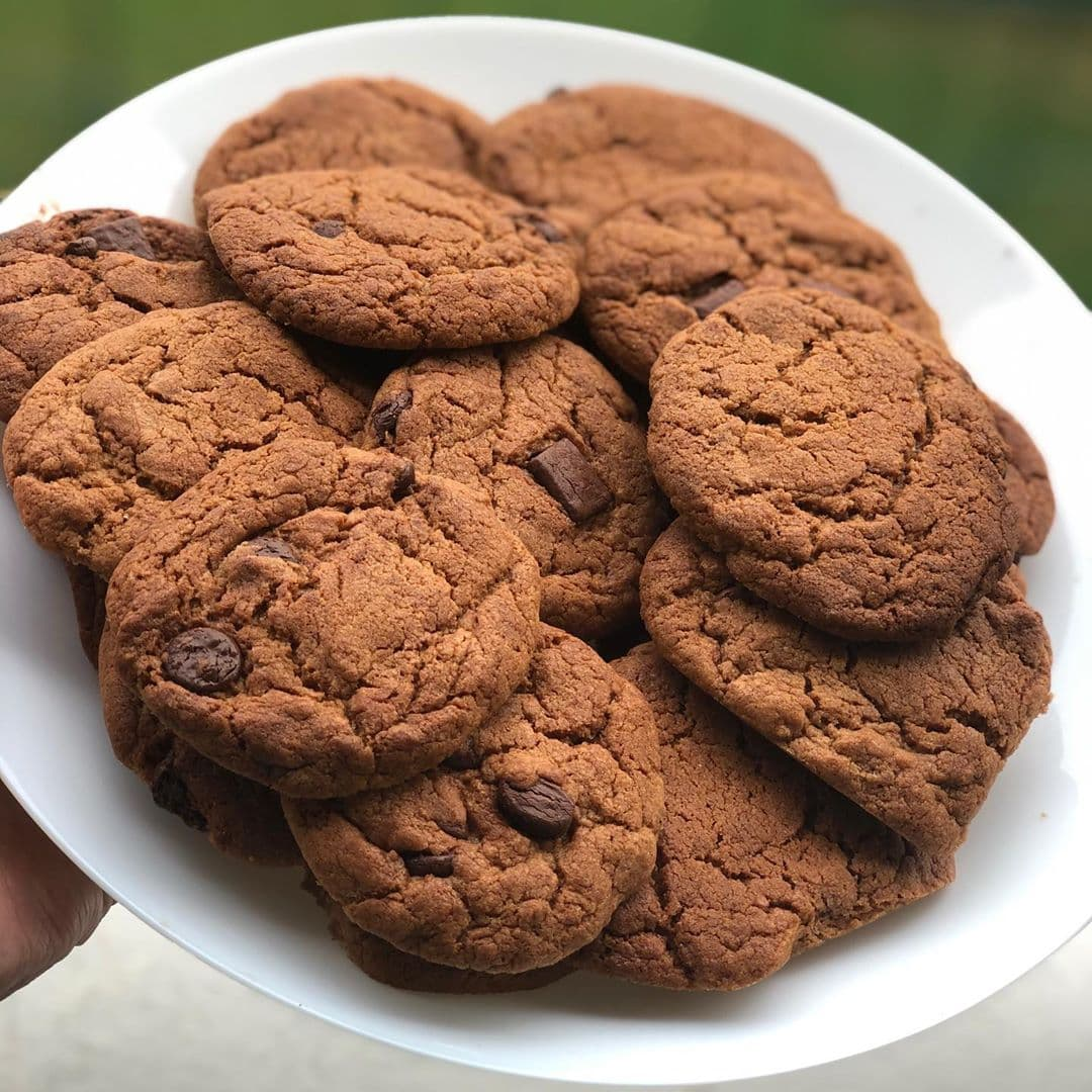 Milo Recipes - Chewy Milo Cookies