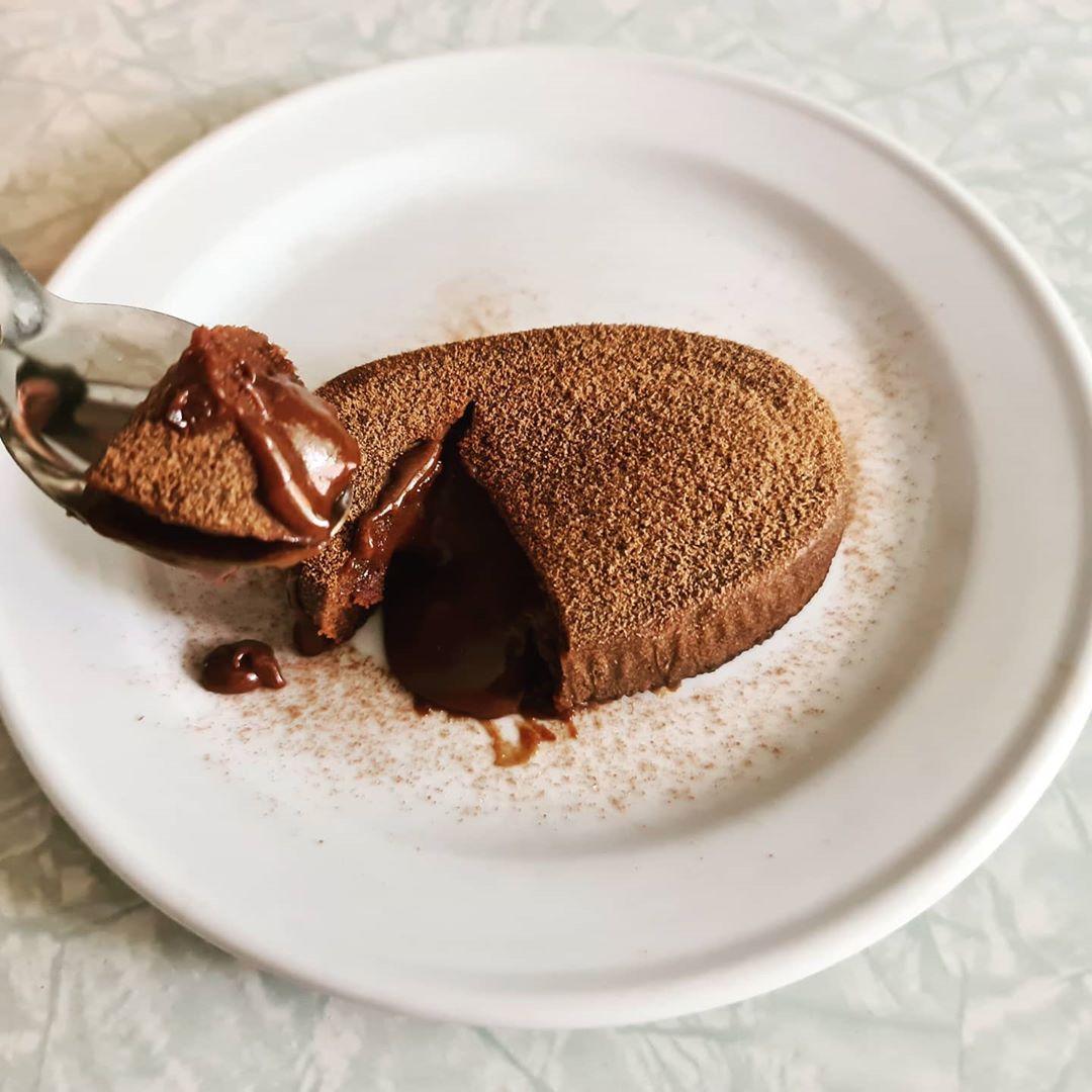 Milo Recipes - Milo Molten Lava Cake