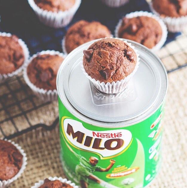 Milo Recipes - Milo Muffins