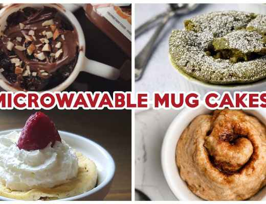 Mug Cake Recipes - Cover Image