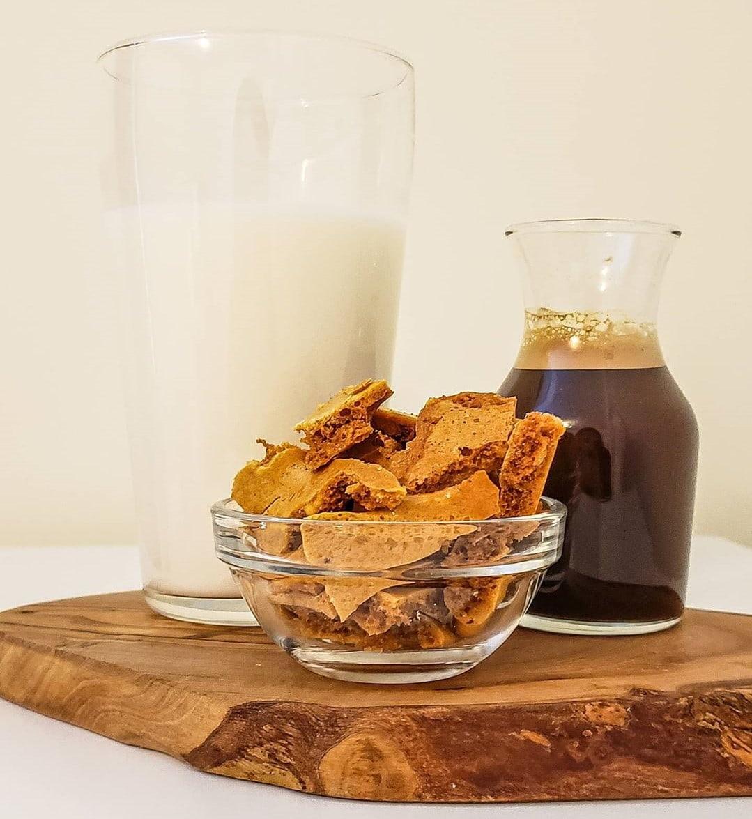 No-Bake Asian Desserts - Honeycomb Dalgona Candy