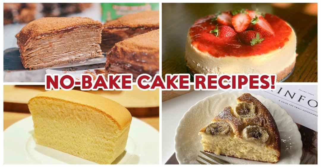 No-Bake Cake Recipes - Feature Image