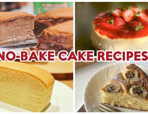 No-Bake Cake Recipes - Feature Image