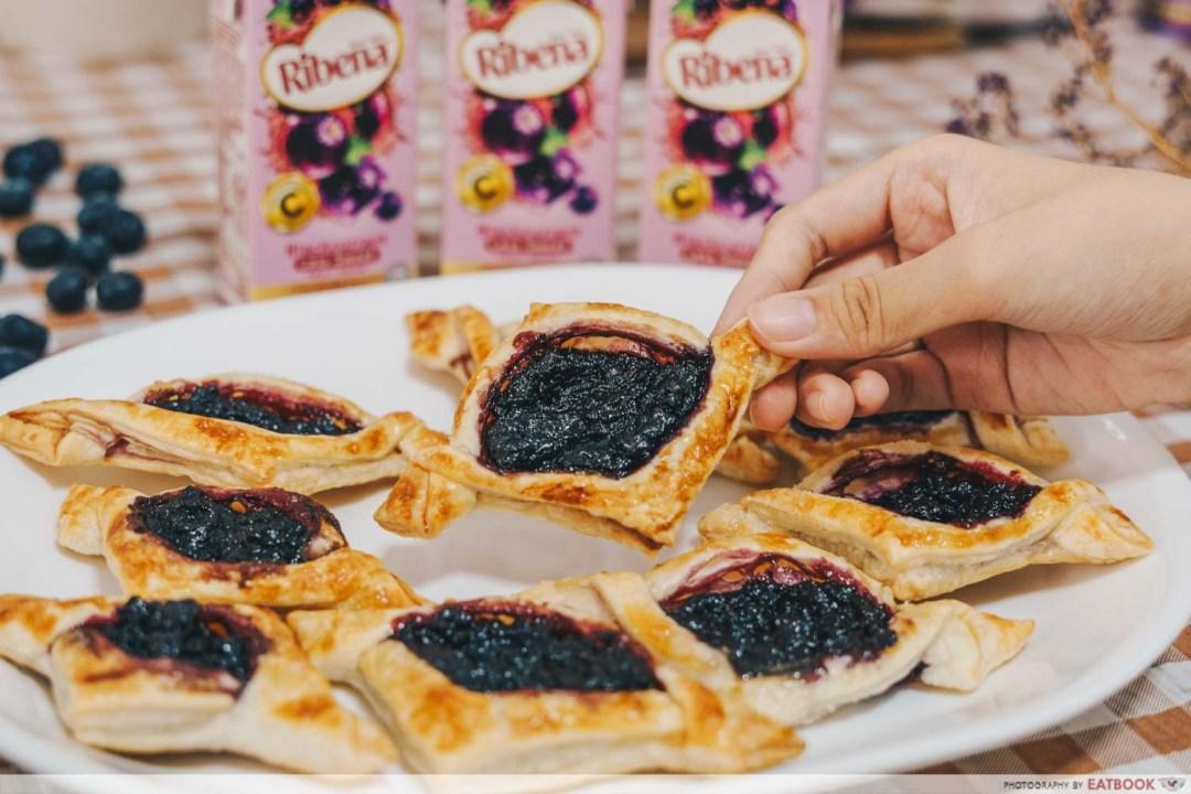 Ribena Recipes - homemade jam danishes