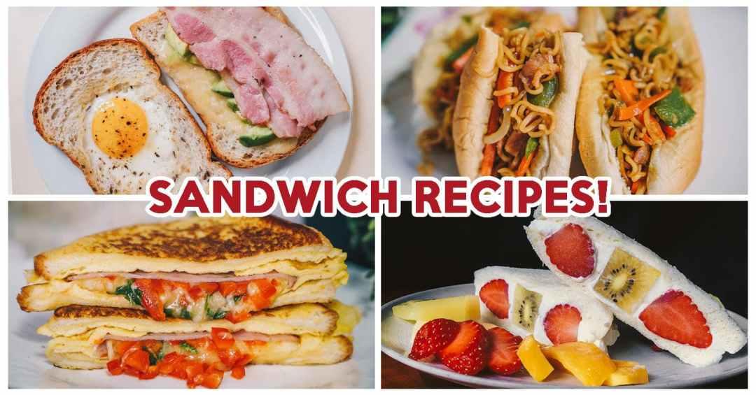 Sandwich Recipes - Feature Image