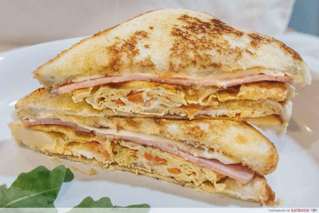 Sandwich Recipes - Korean Gilgeori Toast