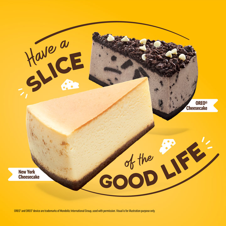 1-for-1 Cheesecake McDonald's - Cheesecake deal