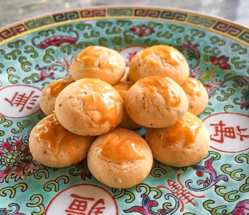 Cookie Recipes - Salted Egg Yolk Cookies