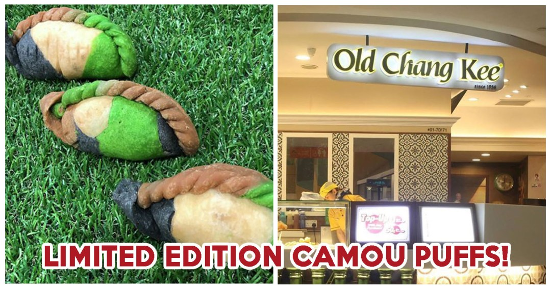 Old Chang Kee Camou Puffs - Feature Image