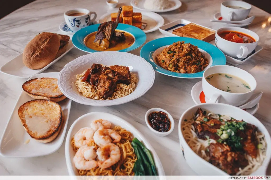 1-for-1 deals at clarke quay tsui wah spread