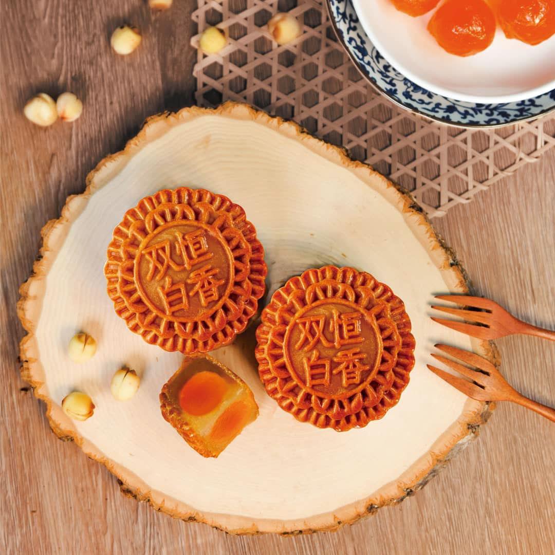 Hang heung bakery - white lotus seed mooncake
