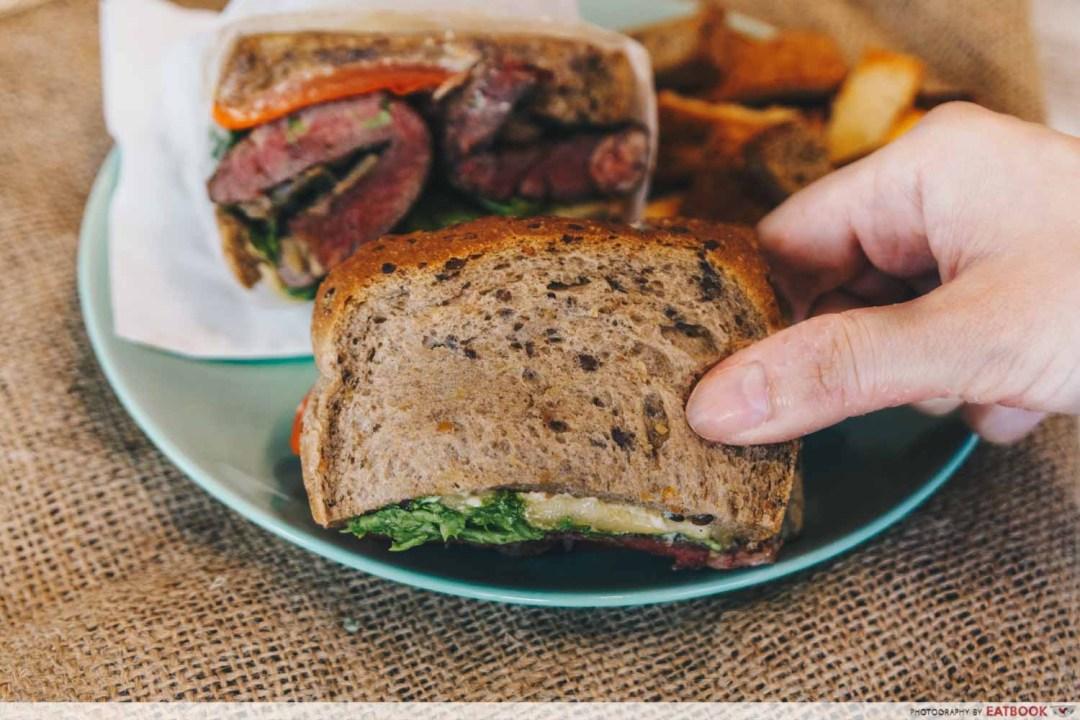 Manpaku sandwich bread