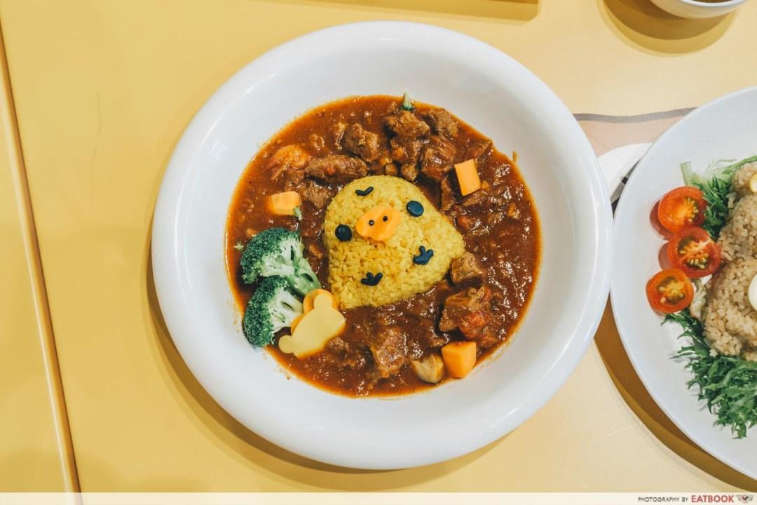Chirpy Kiiroitori Beef Stew Rice