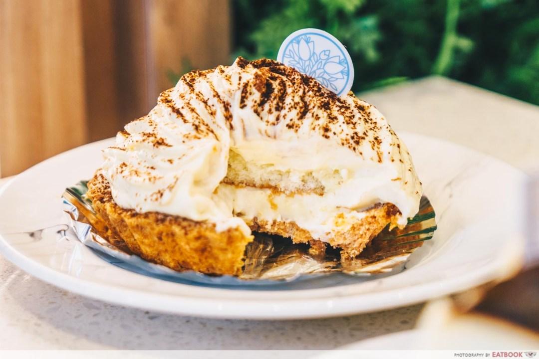 Durian Lab Cafe - Durian Tart