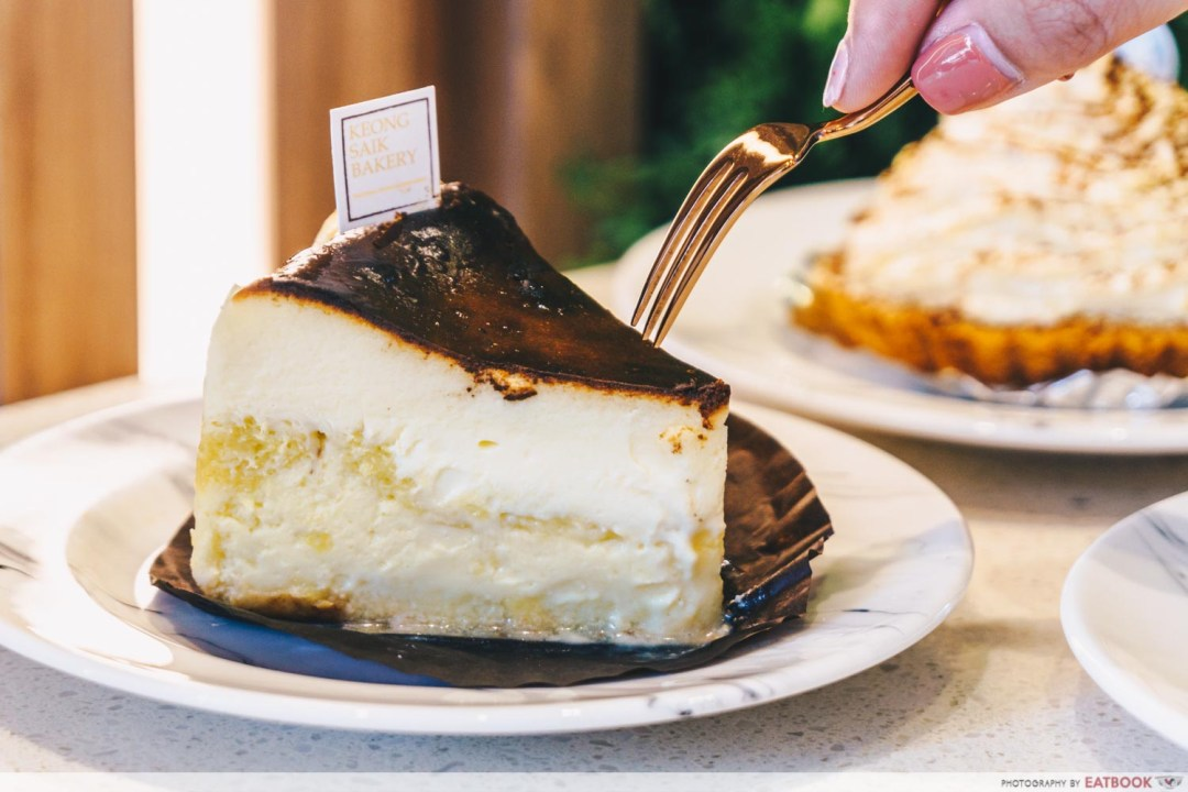 Durian Lab Cafe - MSW Burnt Cheesecakes