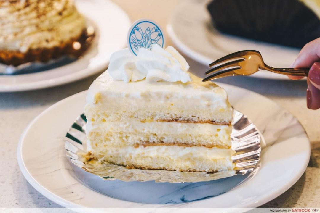 Durian Lab Cafe - Mao Shan Wang Durian Short cake