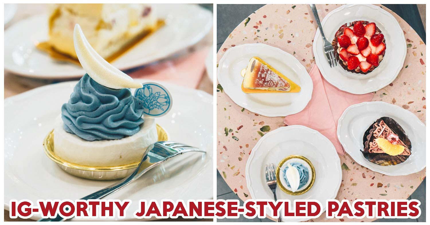 Flor Patisserie Review: IG-Worthy Japanese-Style Tarts And Cakes At City Hall