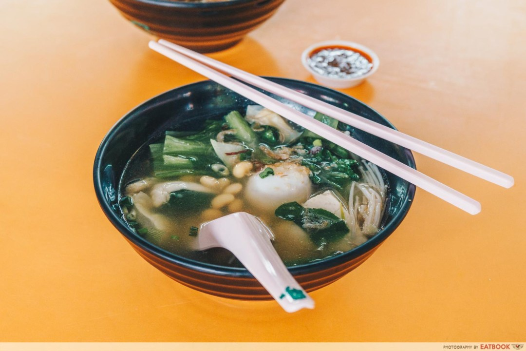 10 Ingredients Yong Tau Foo Soup